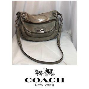 Authentic Used Coach Patent Leather Handbag